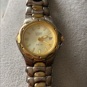 CITIZEN TWO TONE WOMENS WATCH